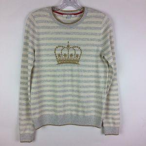 Boden Maisie Jumper Gold Crown Wool Blend Pullover